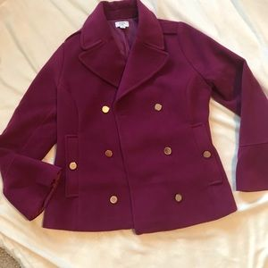 Crown and ivy winter jacket with bell sleeves